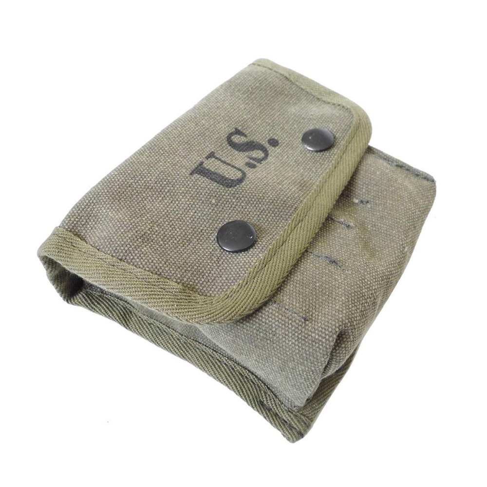 Wwii Ww2 Us Army Soldier Gear M2 Jungle Outdoor Tool Bag Canvas Pouch - World Military Store