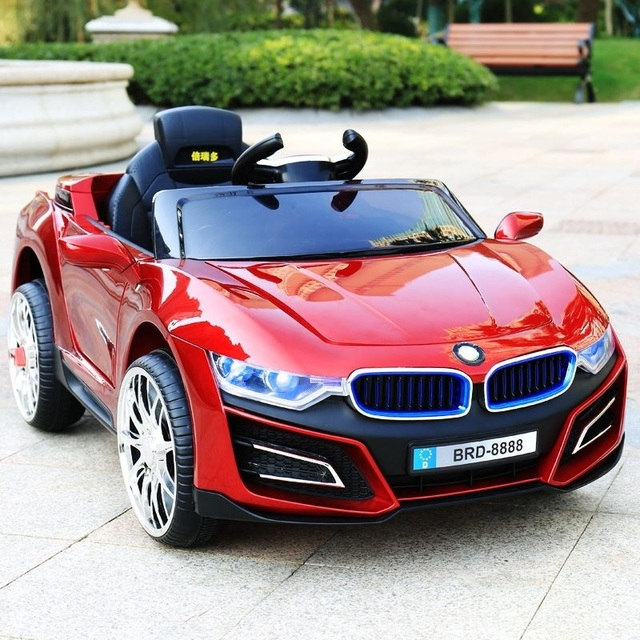 kinder elektroauto vier r dern kind spielzeug auto k nnen nehmen menschen mit schaukel baby. Black Bedroom Furniture Sets. Home Design Ideas