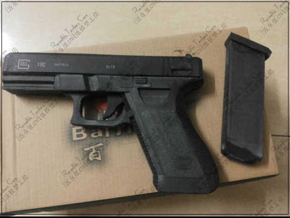 New Czech GLOCK18 Automatic Pistol 1:1 Scale 3D Paper Model