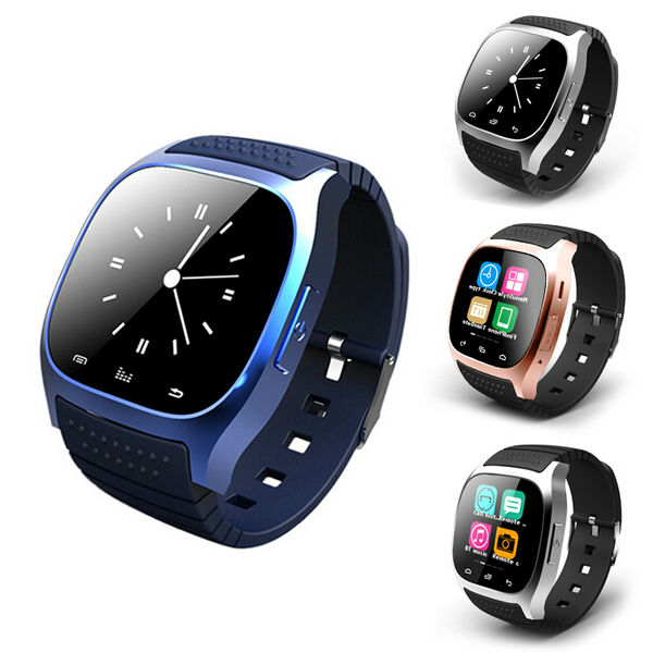 7e1a753b2fb Smart Bluetooth Watch M26 Waterproof Smartwatch With LED Altimeter Music  Player Pedometer For Android IOS Mobile