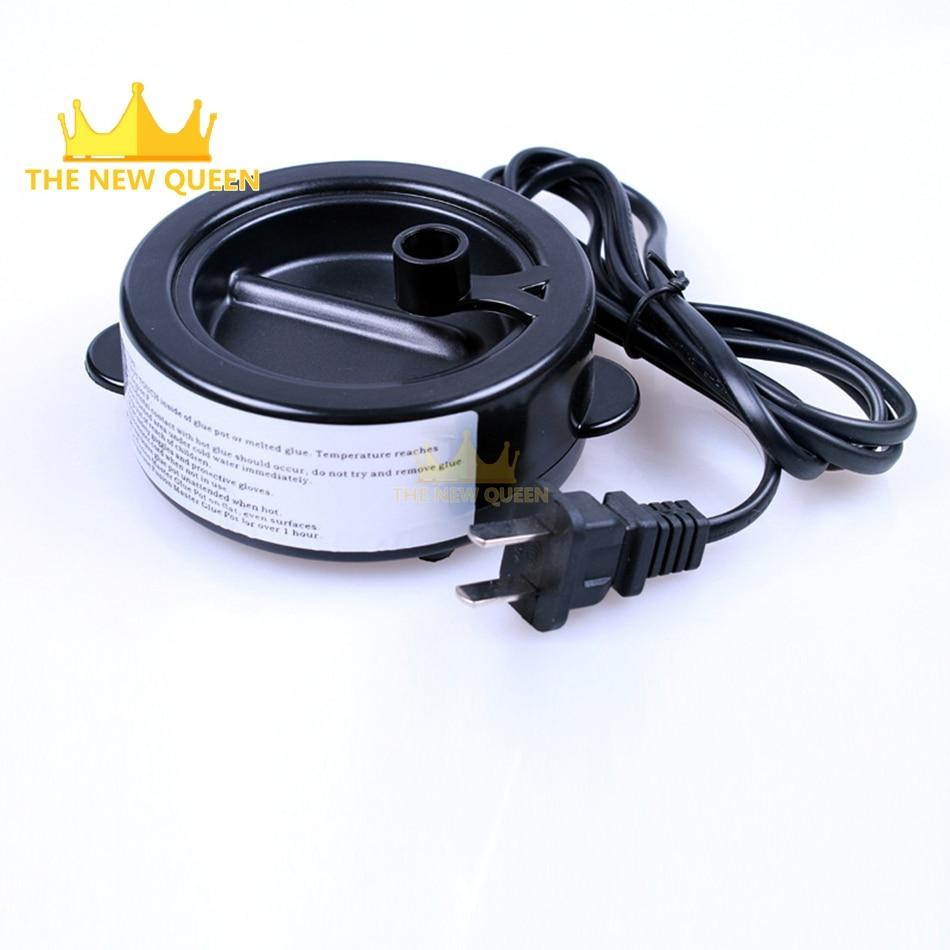 Professional Keratin Melting Glue Pot For Keratin Glue Medium Capacity Constant Temperature Glue Pot Support EU