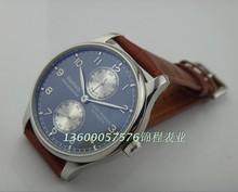 2016 новая мода 43 мм PARNIS Автоматические Self-ветер движение мужские часы Бизнес-часы, часы Оптом