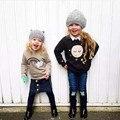 Новая зимняя радуга облако новорожденных девочек мальчиков свитера малышей детей свитер трикотаж пуловеры случайные детская одежда верхняя одежда