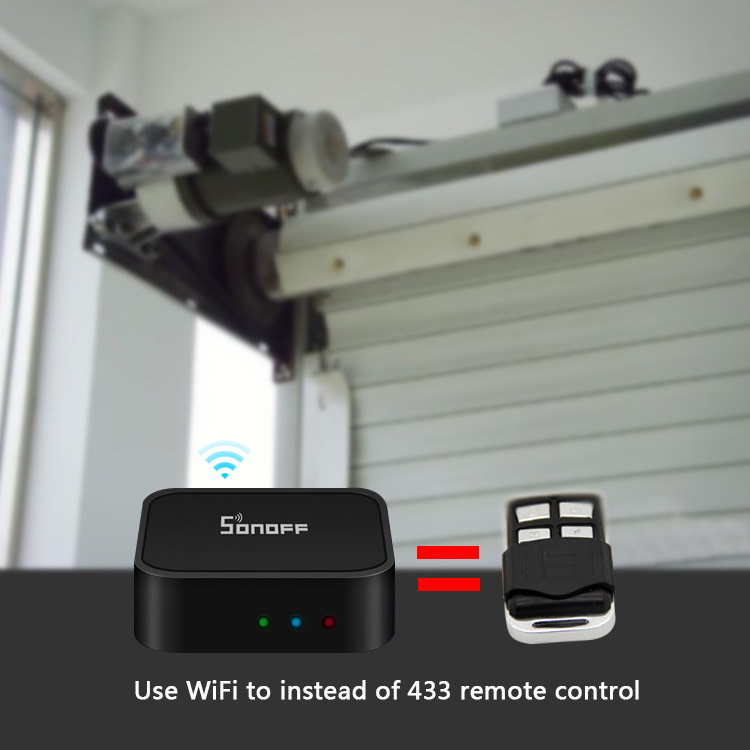 US $8 51 19% OFF|Sonoff RF Bridge 433MHZ Wifi Wireless Signal Converter PIR  2 Sensor/ DW1 Door & Window Alarm Sensor for Smart Home Security Kits-in