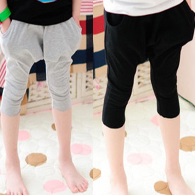 2015 wiosna lato gorąca sprzedaż harem spodnie dzieci moda bawełna - Ubrania dziecięce - Zdjęcie 1