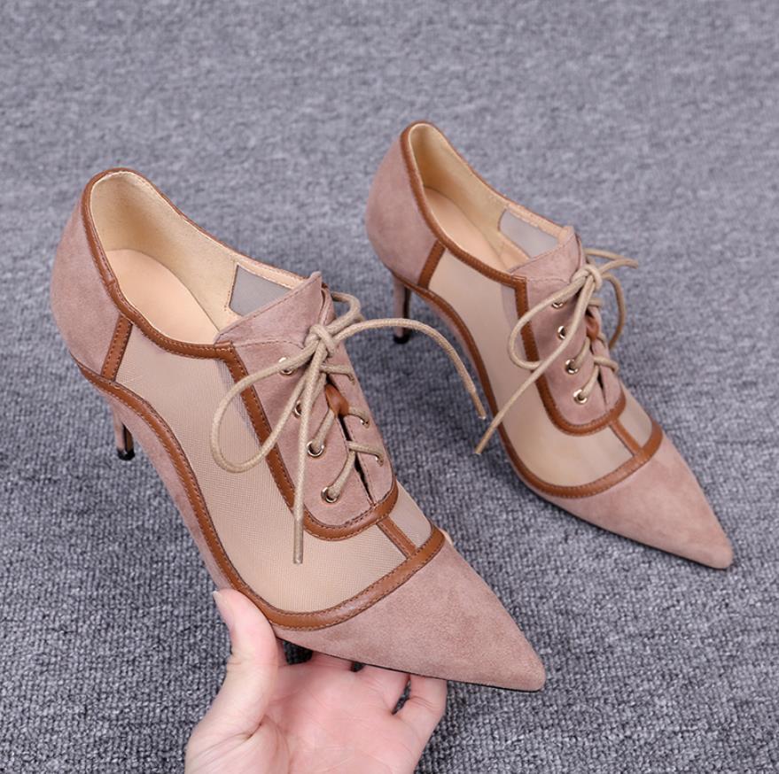 Noir 8 Printemps Et Rose Va Avec Chaussures Le Cm 6 De Haute Bout nk08OXwP