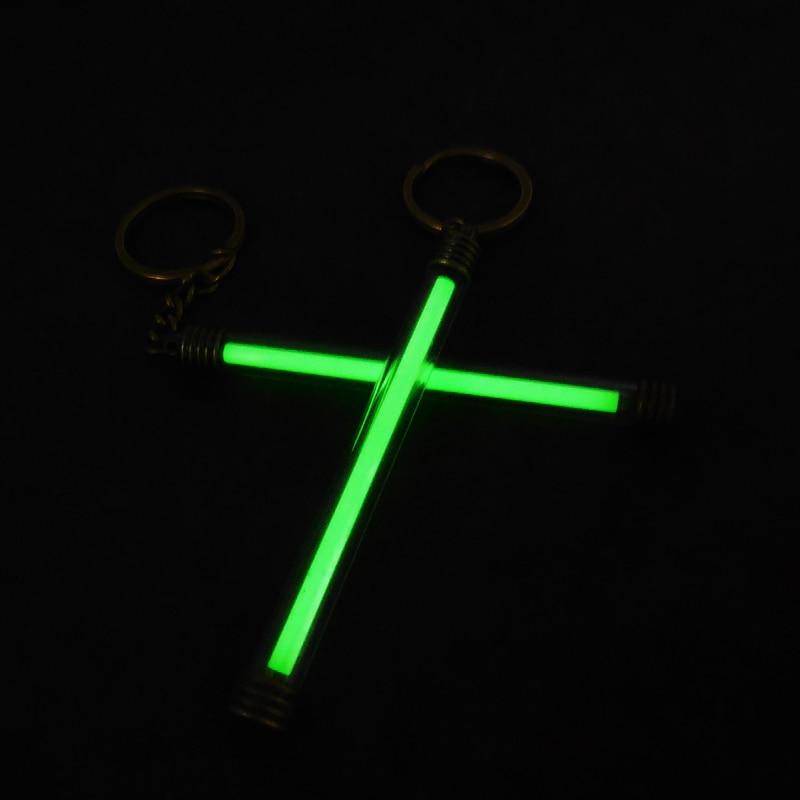 5 * 80mm Luz Automática tubo de Gas Tritium Impermeable Luces de - Para fiestas y celebraciones - foto 2