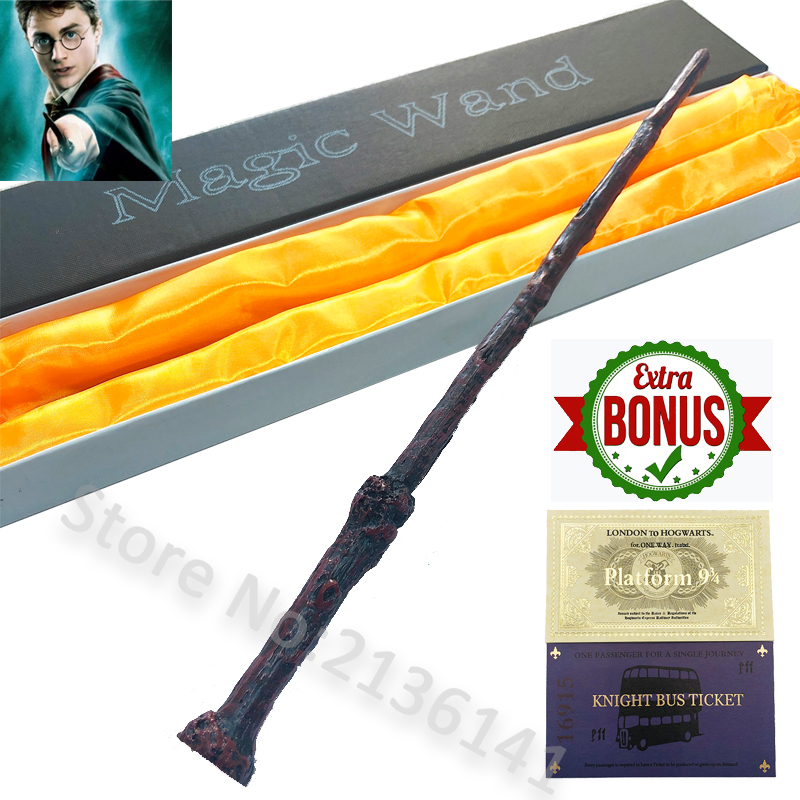 New 35cm Top Quality Severus Snape Magic Wand With Gift Box Cosplay Game Collection Wand Harry Series Stick Toys