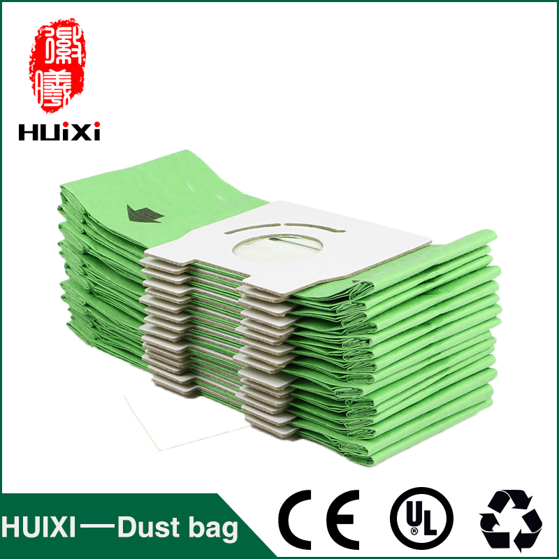 20 pcs Vacuum cleaner green paper dust bags and change bags of vacuum cleaner accessories for MC-CA291  MC-CA293  MC-CA391 etc