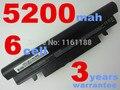 Batería recargable del ordenador portátil para samsung n143 n145 n148 n150 n250 n260