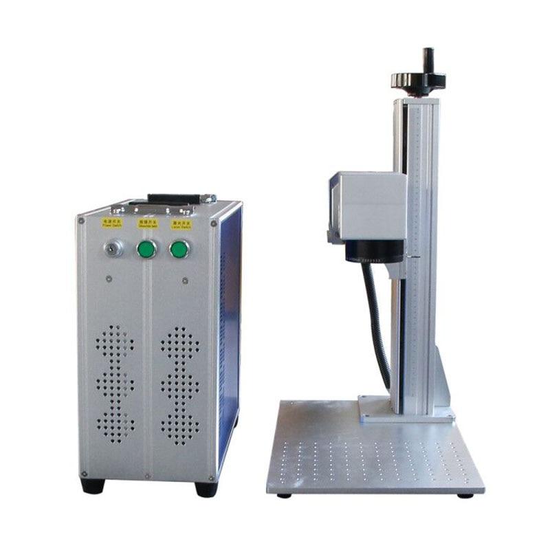 Portable Mini Fiber Laser Marking Machine Price Desktop Metal Jewelry Logo Laser Engraving Machine Raycus Source