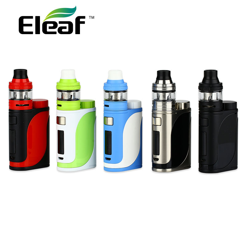 Originale 85 w Eleaf iStick Pico 25 Vape Kit w/Ello Serbatoio 2 ml & HW Bobina No 18650 batteria Vape Kit iStick Pico Box Mod vs ijust 3
