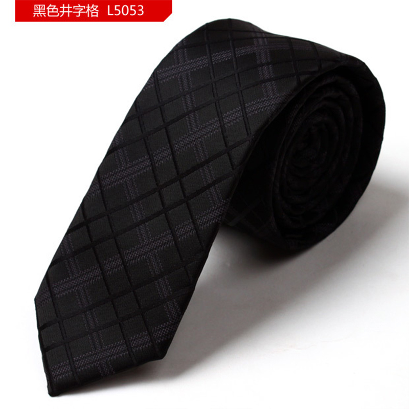Jacquard Gravatas Neck Tie Plaid Slim Onesize Suits Tie For Wedding Business Mens Ties Formal Necktie Cravats For Men DaL5053