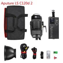 Aputure 120D II II COB ควบคุม Professional Photo ฟิล์มสตูดิโอถ่ายภาพสำหรับ YouTube วิดีโอ LED 120D