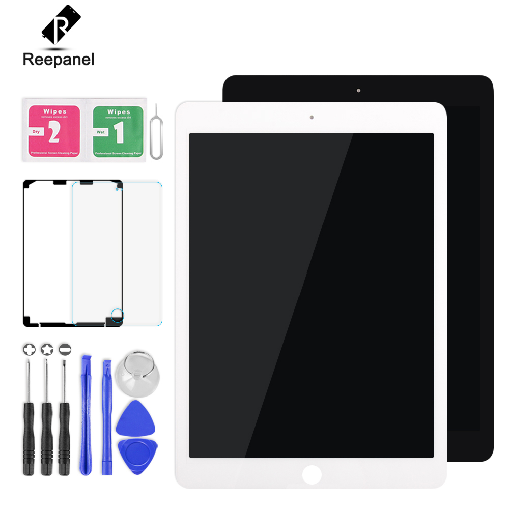 все цены на AAA+ LCD For iPad Pro 9.7 A1673 A1674 A1675 LCD Display Matrix Touch Screen Digitizer Sensor Tablet PC Assembly no Home Button онлайн