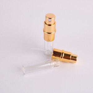 Image 5 - 11 renkler 5ml taşınabilir Mini boş parfüm şişeleri doldurulabilir püskürtücü yüksek kaliteli alüminyum parfüm pompalı sprey şişe