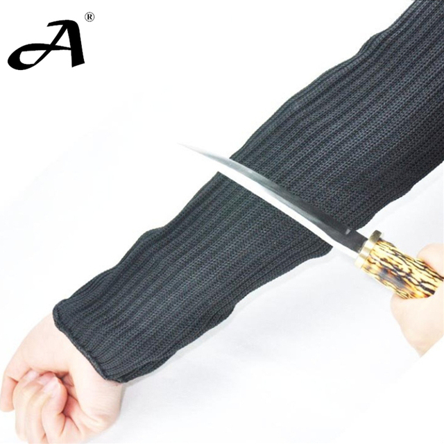 US $25 99 |New Kevlar Sleeve, Hunting armwarmer, Cut resistant armband,  hunting Equipment Anti Abrasion Safety, Anti cut sleeves, Level 5 on