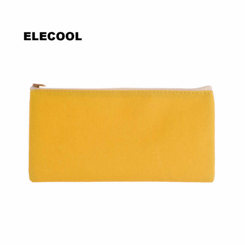 ELECOOL Multifunctional Solid color Cosmetic Travel Bag Makeup Pouch Purse Storage Organizer Cosmetic Makeup Tools