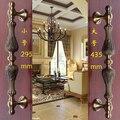 2 pcs free shipping Door shake handshandle european-style villa door shake handshandle archaize wooden door handle  KD-8006S