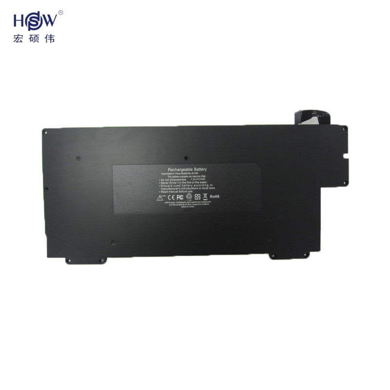 HSW New Laptop Battery For Apple MacBook Air 13 A1304/ A1237 Battery 020-6350 A1245 MB003 MC234ZP/A NEW компьютерные аксессуары for apple macbook air 10 apple macbook air a1237 a1304 mb003 mc233 mc234 2008 2009