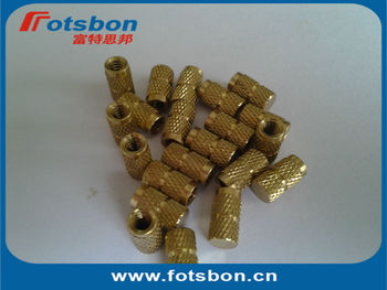 IBB-M3-4 Blind Threaded Insert ,Molded-in threaded inserts,brass,nature,PEM standard,made in China