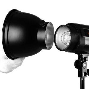 """Image 5 - Универсальное крепление для фотостудии Godox, студийный осветительный светильник 180 мм 7 """"с отражателем, для Godox, K 180A, 300SDI, 250SDI, E250, E300"""