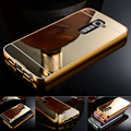 Для LG G3 Зеркало Бампер Алюминиевый Металлический Каркас Fundas Зеркало акриловая Задняя Крышка Чехол Для LG G2 G3 G4 Зеркало случае