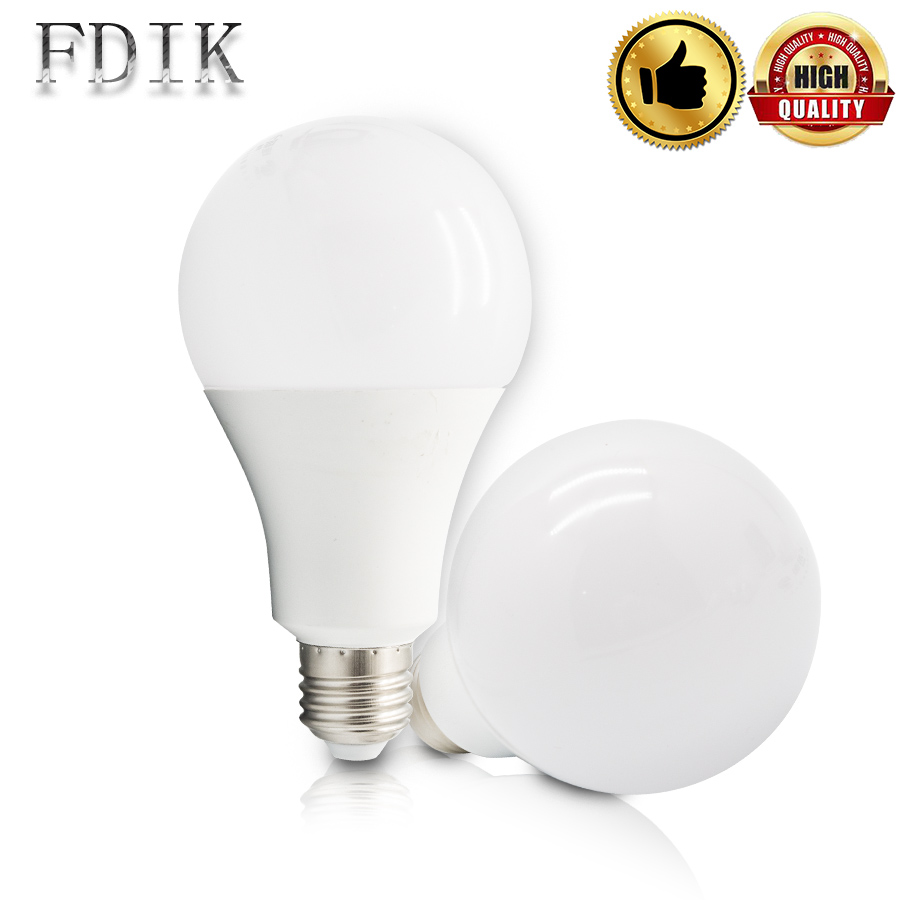 LED Bulb E27 110V 220V High Brightness Conventional LED Light 5W 7W 9W 12W 15W 18W Bedroom Lamp Livingroom Lamps Warm/Cold White
