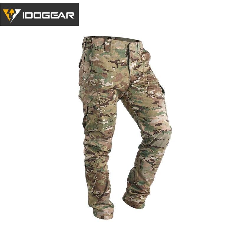 IDOGEAR GL Taktische Hosen CP Bereich Airsoft Military Hosen Camo Flexible Mann Casual Hosen Multicam 3204
