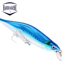 Купить с кэшбэком 11cm 12g Japan Hard Bait Minnow Fishing Lures Aritificial Wobblers Crankbait Pesca Plastic Baits Fish Jerkbait Fishing Tackle