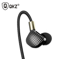 Original QKZ KD6 In Ear Earphone 6 Dynamic Driver Unit Headsets Stereo Sports With Microphone HIFI