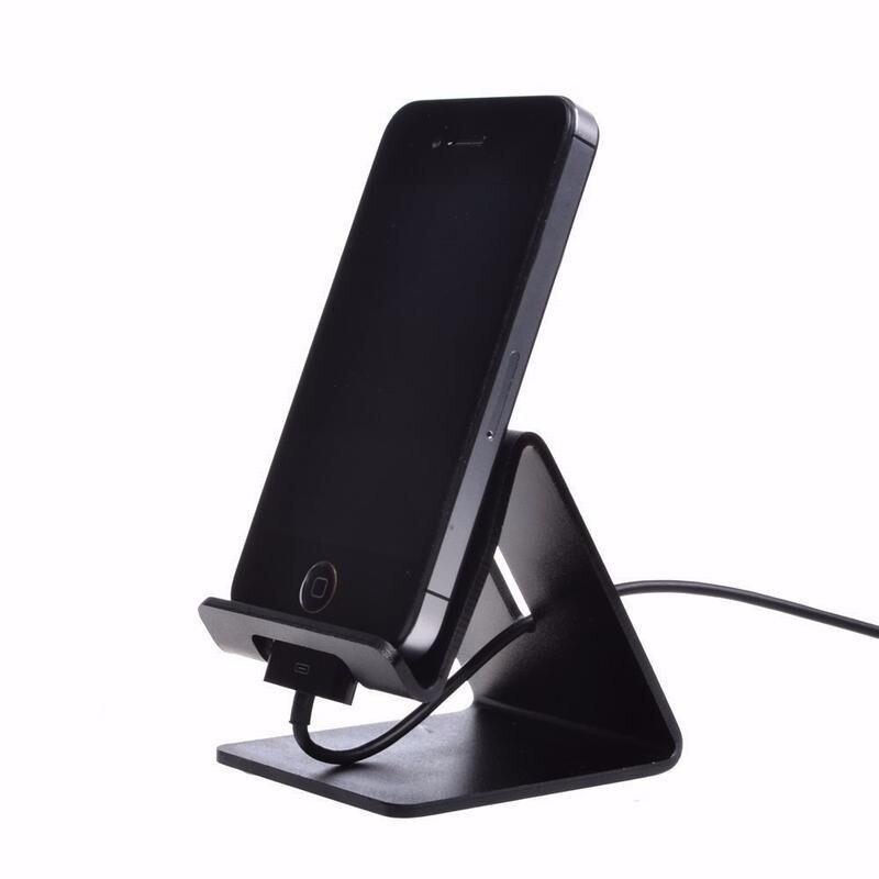 Portefeuille Universal Aluminum Metal Mobile Phone Tablet Desk Holder Stand for iPhone 7 6 Samsung S7 Smartphone Kindle Tablets