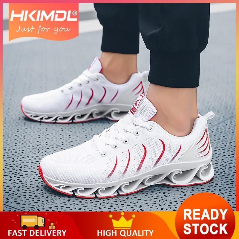 HKIMDL 2019 chaussures hommes décontracté course Sport chaussures hommes baskets chaussures hommes respirant