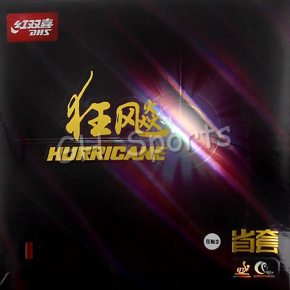 ФОТО DHS Hurricane 3 Provincial dhs hurricane provincial Pips in Table Tennis Rubber With Sponge