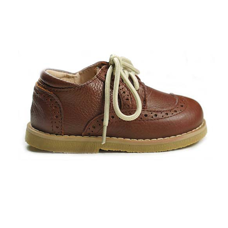 Genuine Leather Children casual shoes British style Boys shoes Non-slip Girs Flat shoes Kids school shoes 13.5cm-17cm
