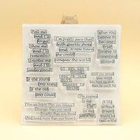 KLJUYP me Diga Clara Selos scrapbooking Scrapbook Paper Craft selo Claro 600|Selos|   -