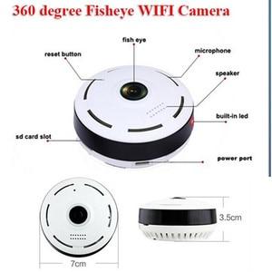 Image 2 - HD 360 درجة بانورامية زاوية واسعة كاميرا تلفزيونات الدوائر المغلقة الذكية IPC اللاسلكية فيش كاميرا IP P2P 1080P HD أمن الوطن واي فاي كاميرا