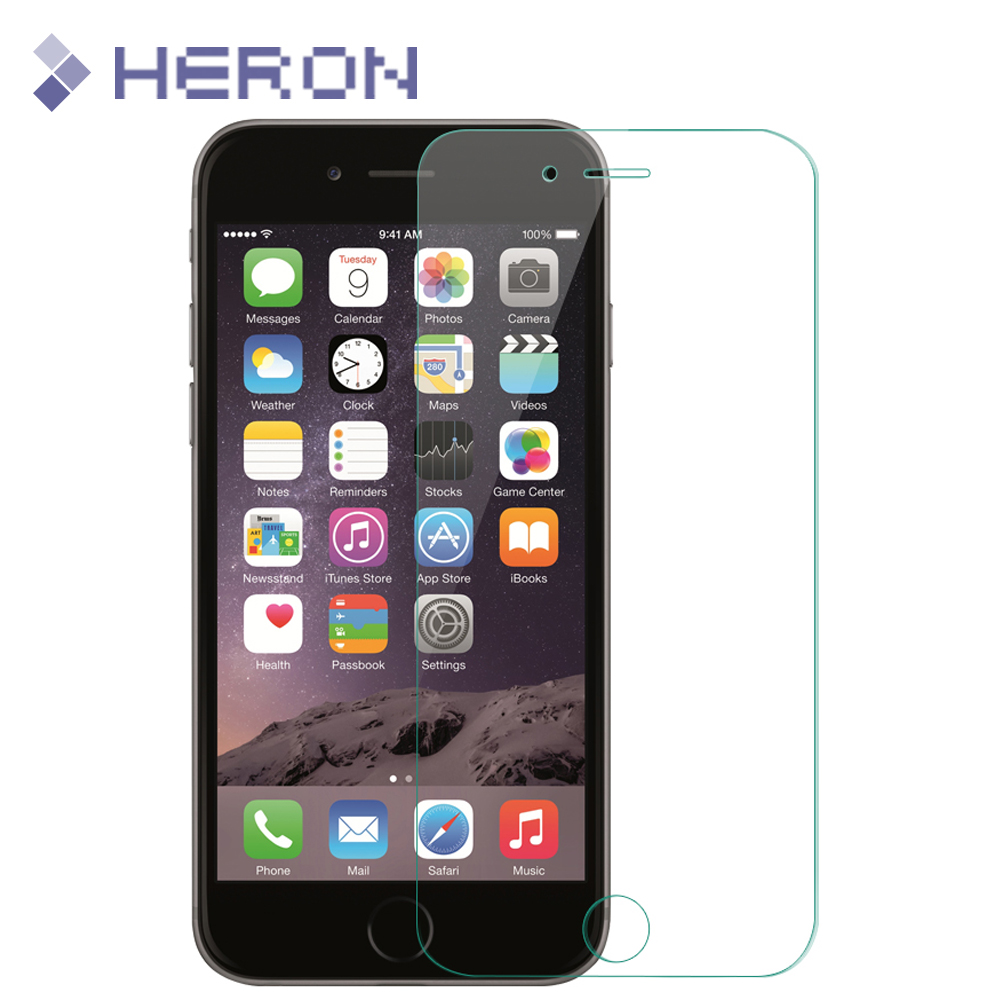 0.3mm Tempered Glass Film For iPhone 6 6S i6 4.7'' 6S Plus 6+ i4 4s 5 5S 5C SE 7 7+ 9H 2.5D Screen Protector Cover +Clean Tools