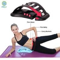 KONGDY Back Stretcher Massager Lumbar Support Waist Neck Relax Device Adjustable Body Massager Relieve Spinal and lumbar Pain
