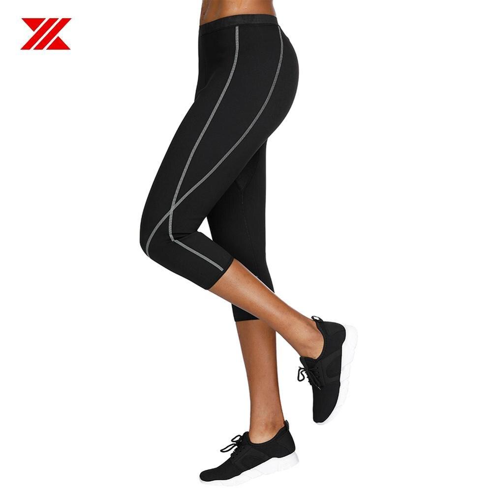 Pantalones Adelgazantes De Neopreno de Mujeres para Sudar Sauna Quemar Grasa