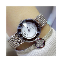 Womens High-end Quartz Movement Bracelet Watch Fashion New Popular Ladies Custom Full Rhinestone