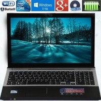 8 ГБ Оперативная память + 240 ГБ SSD 15,6 Intel Core i7 ноутбука Windows10/7 DVD большой Ultrabook быстро процессор Intel Core 4 AZERTY русский Испания клавиатура