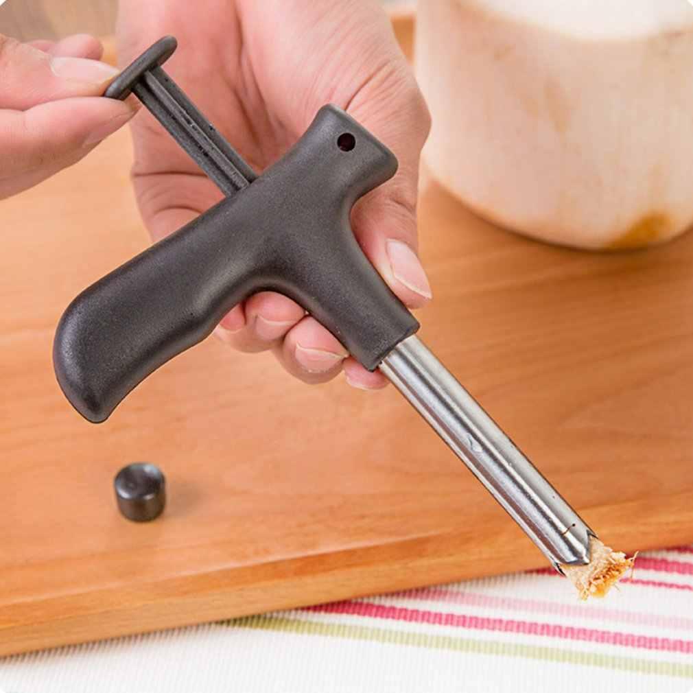ステンレス鋼ココナッツオープナーココナッツナイフ CocoDrill オープニングツールパンチタップナイフの生ココ水ジュース
