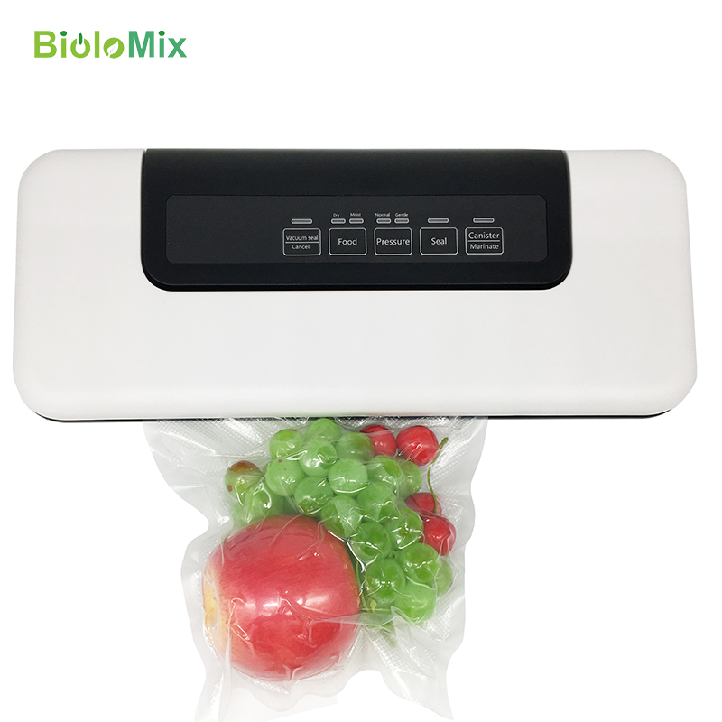 Automatic Vacuum Sealer Packer Vacuum Air Sealing Packing Machine For Food Preservation Dry, Wet, Soft Food with Free 10pcs Bags(China)