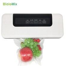 Автоматический вакуумный упаковщик, вакуумная воздушная упаковочная машина для сохранения пищевых продуктов, сухая, влажная, мягкая еда с бесплатными пакетами 10 шт