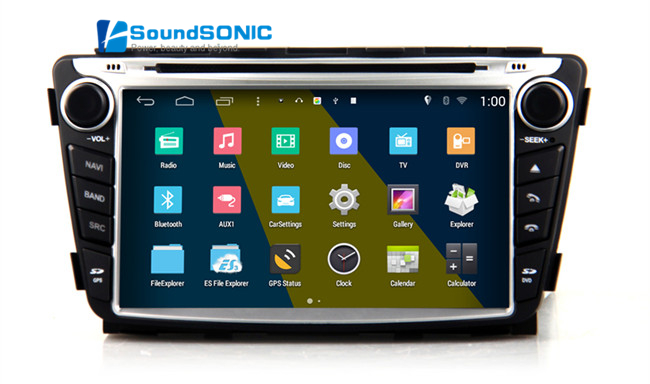 For Hyundai Verna Solaris Android 4 4 4 2 Din Car Stereo DVD GPS Audio Video