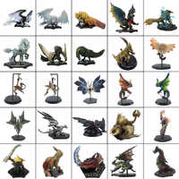 Monster Hunter World Game PVC Models Hot Dragon Action Figure Rathalos Gore Magala Decoration Toy Monsters Model Collection
