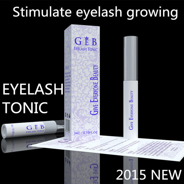 GEB eyelash tonic - rapid eyelash growing serum fast effective eyelash growth liquid best eyelash enhancer