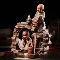 I take back the censer ceramic water shramanera aromatic incense cone incense smoke waterfall tours with supplie