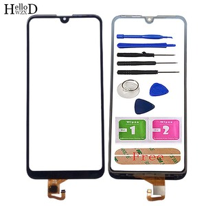Mobile Touch Screen For Huawei Y7 2019 Y7 Pro 2019 Y7 Prime 2019 Touch Screen Digitizter Panel Front Glass Lens Sensor Tools